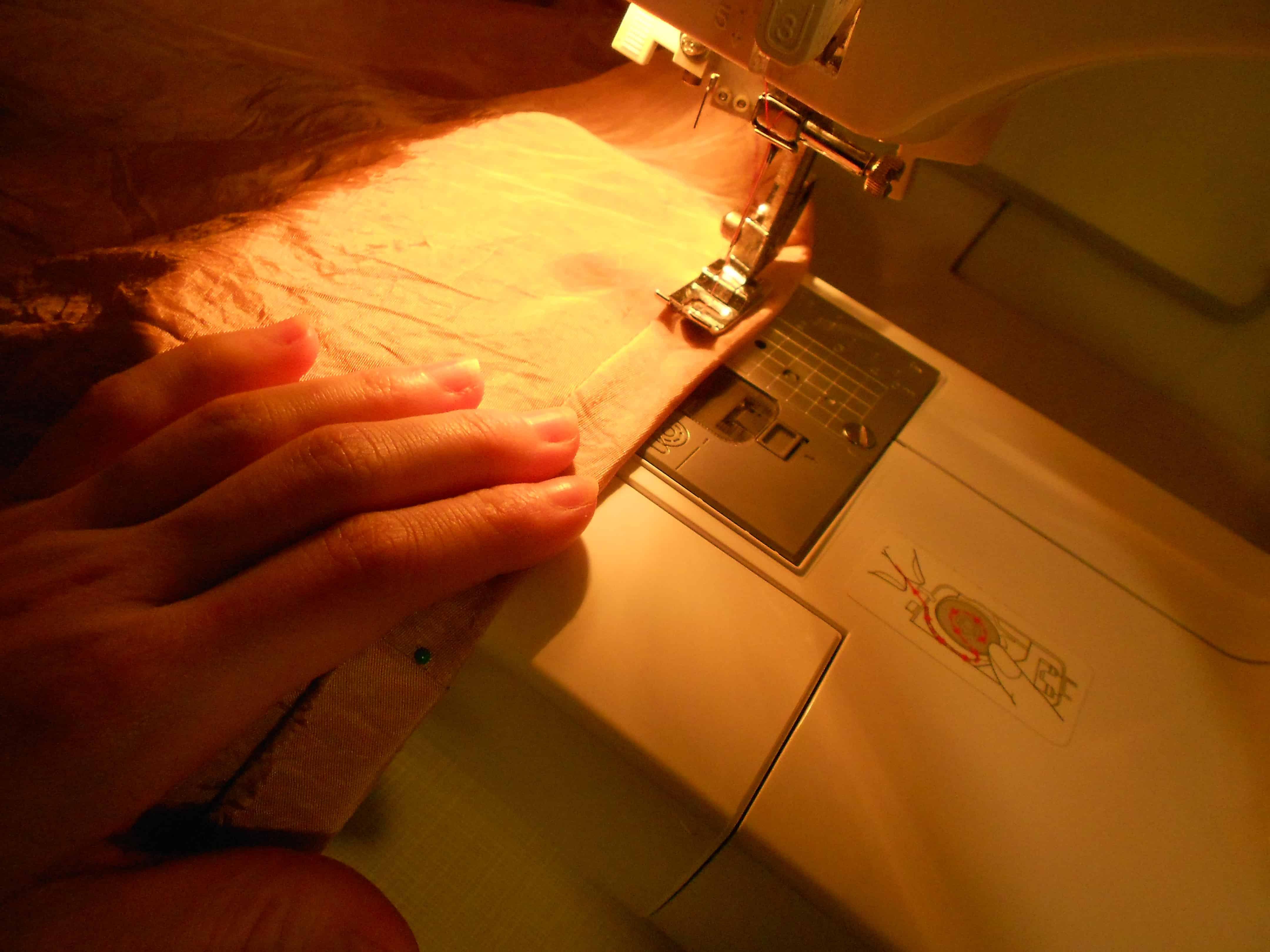 sewing hem