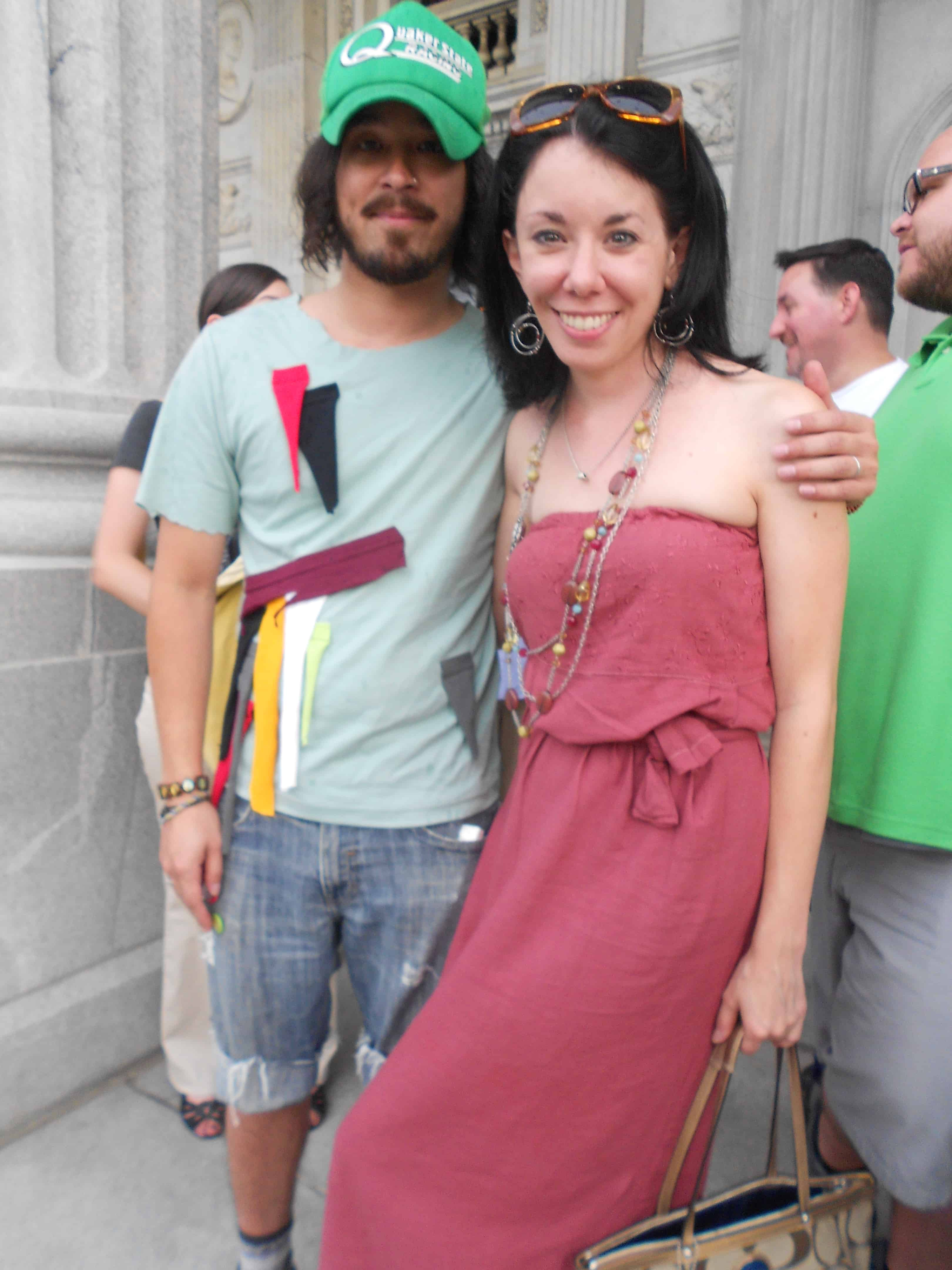 Rally for the Arts: A Sleeveless to Strapless Dress Refashion 15