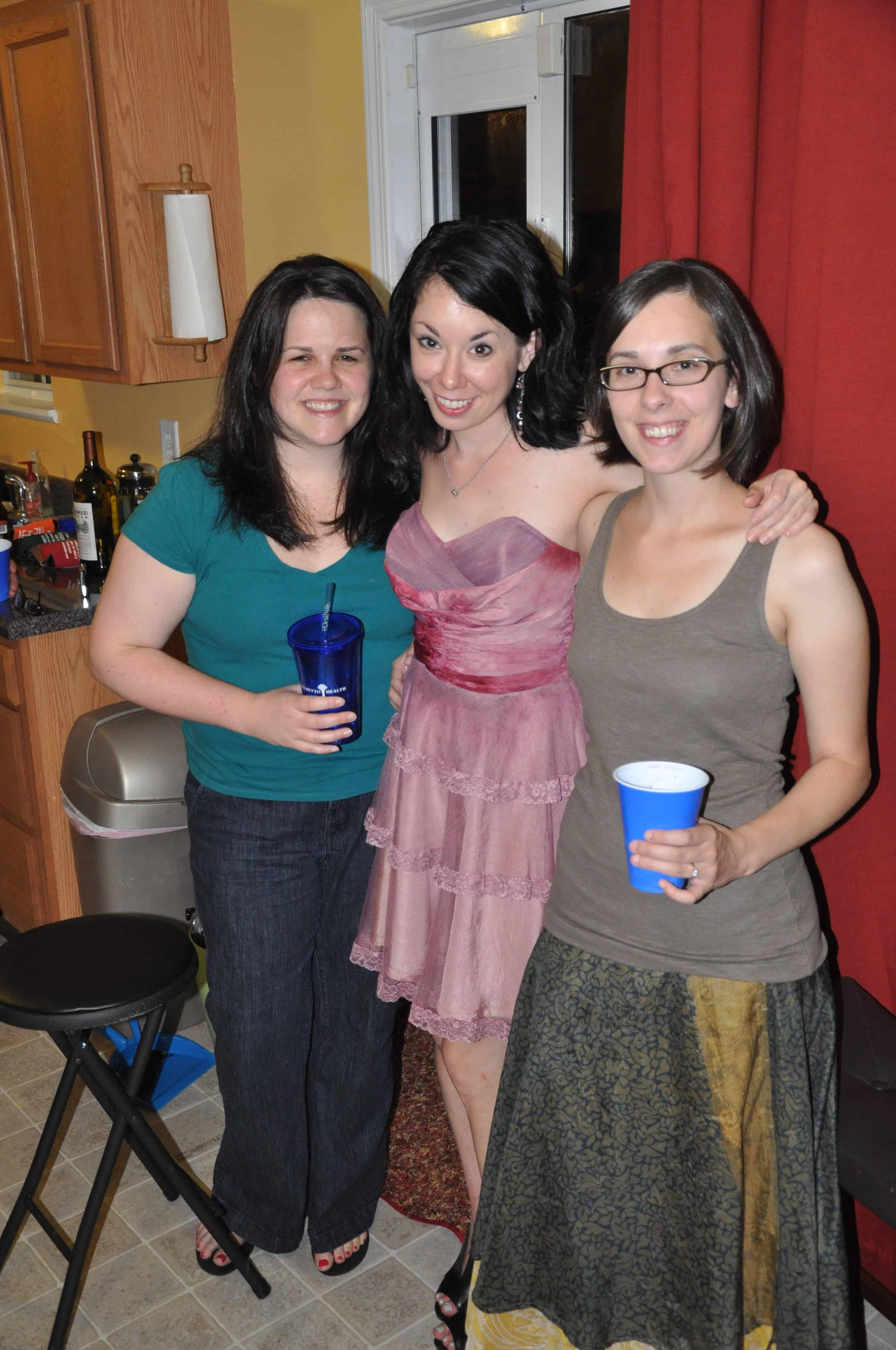 jillian with friends