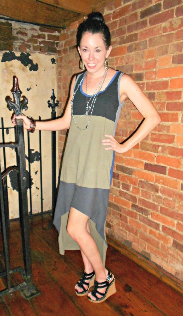 Jersey Dress from Old Tees! 2
