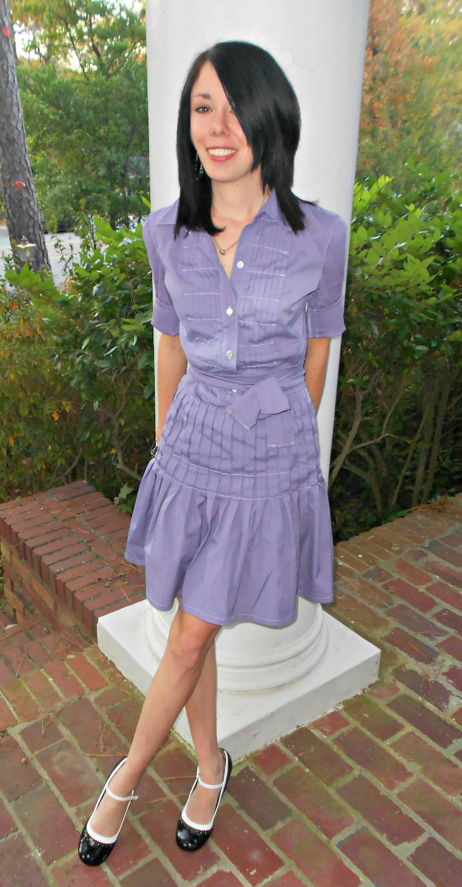 Violet Femme Dress 10