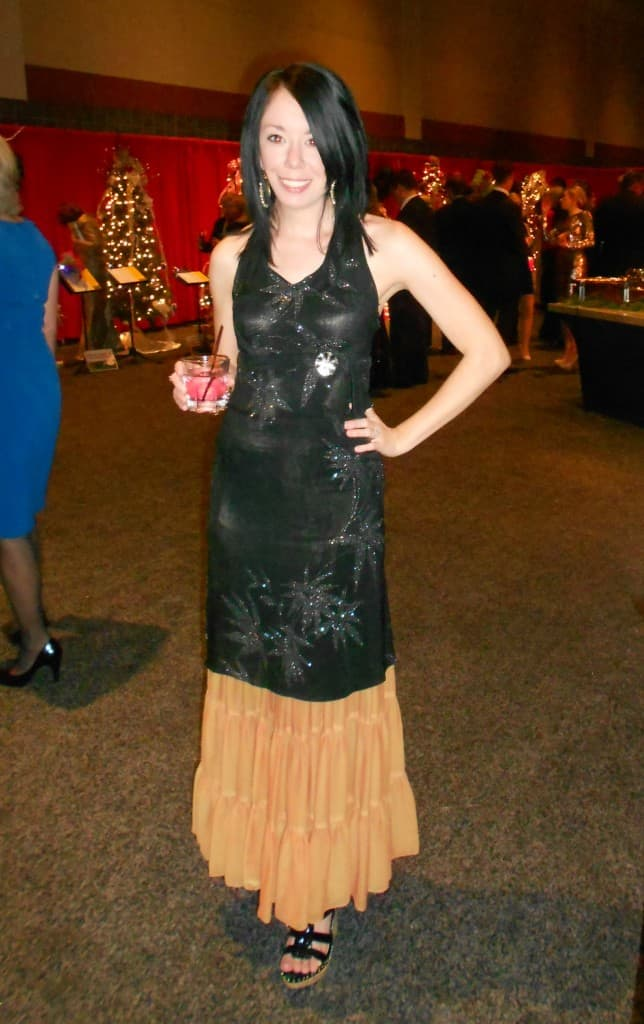 Festival of Trees Gala Dress 14