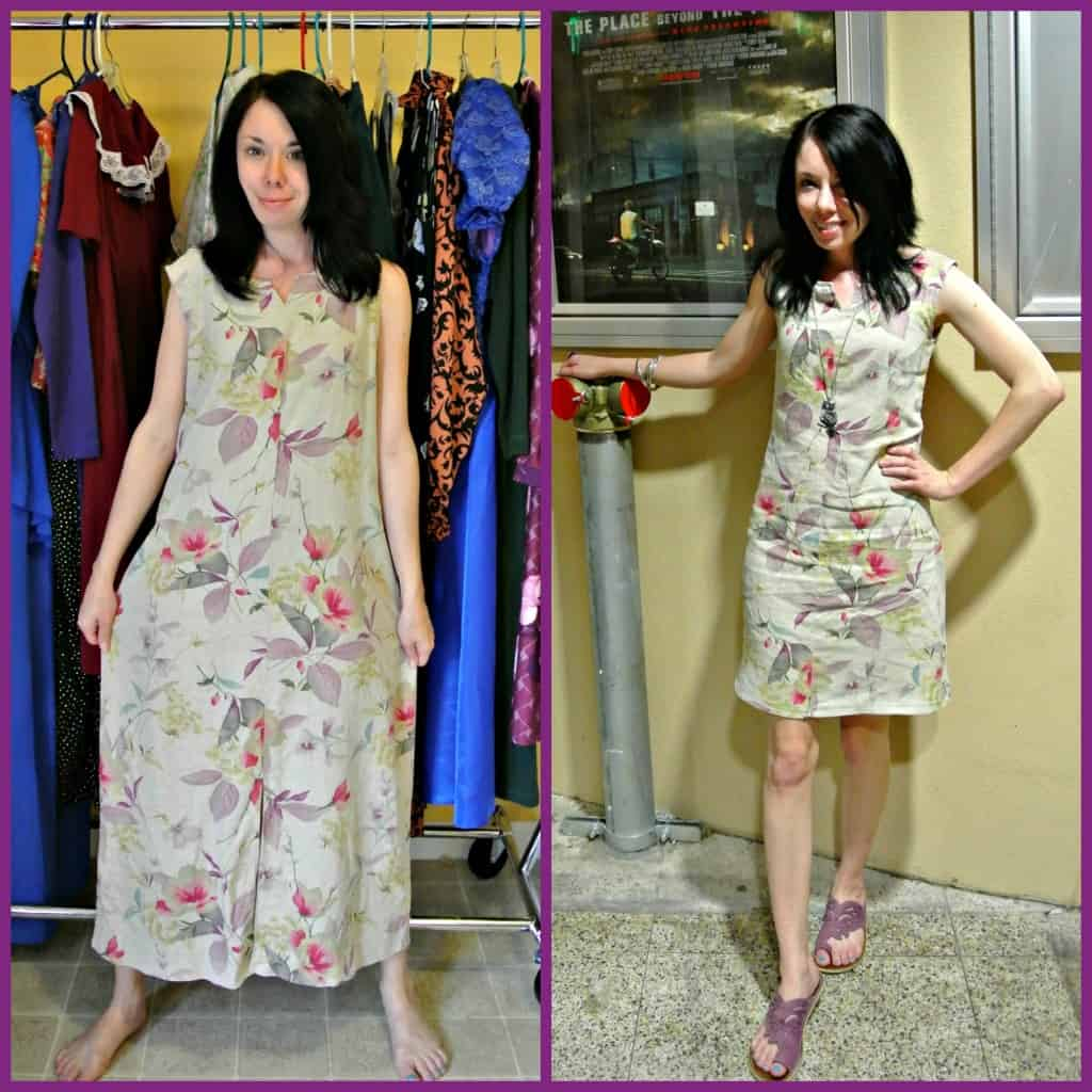 Q&A Monday: How to Refashion without a Dress Form 4