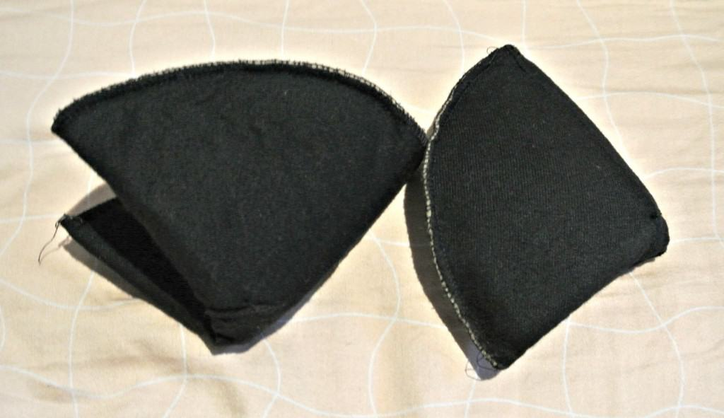 removing shoulder pads from dress