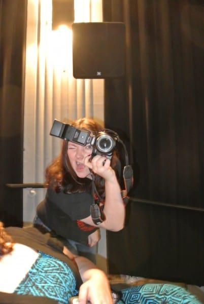 Here's Amanda now! :)