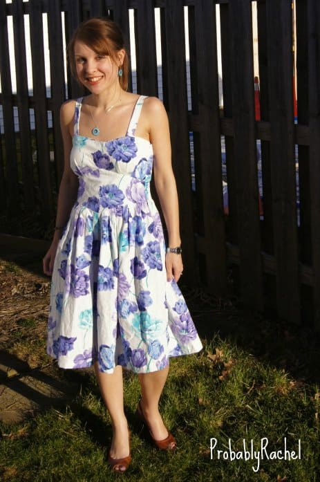 Wannabe Wednesday:  A Lilly Pulitzer-Inspired Refashion 5