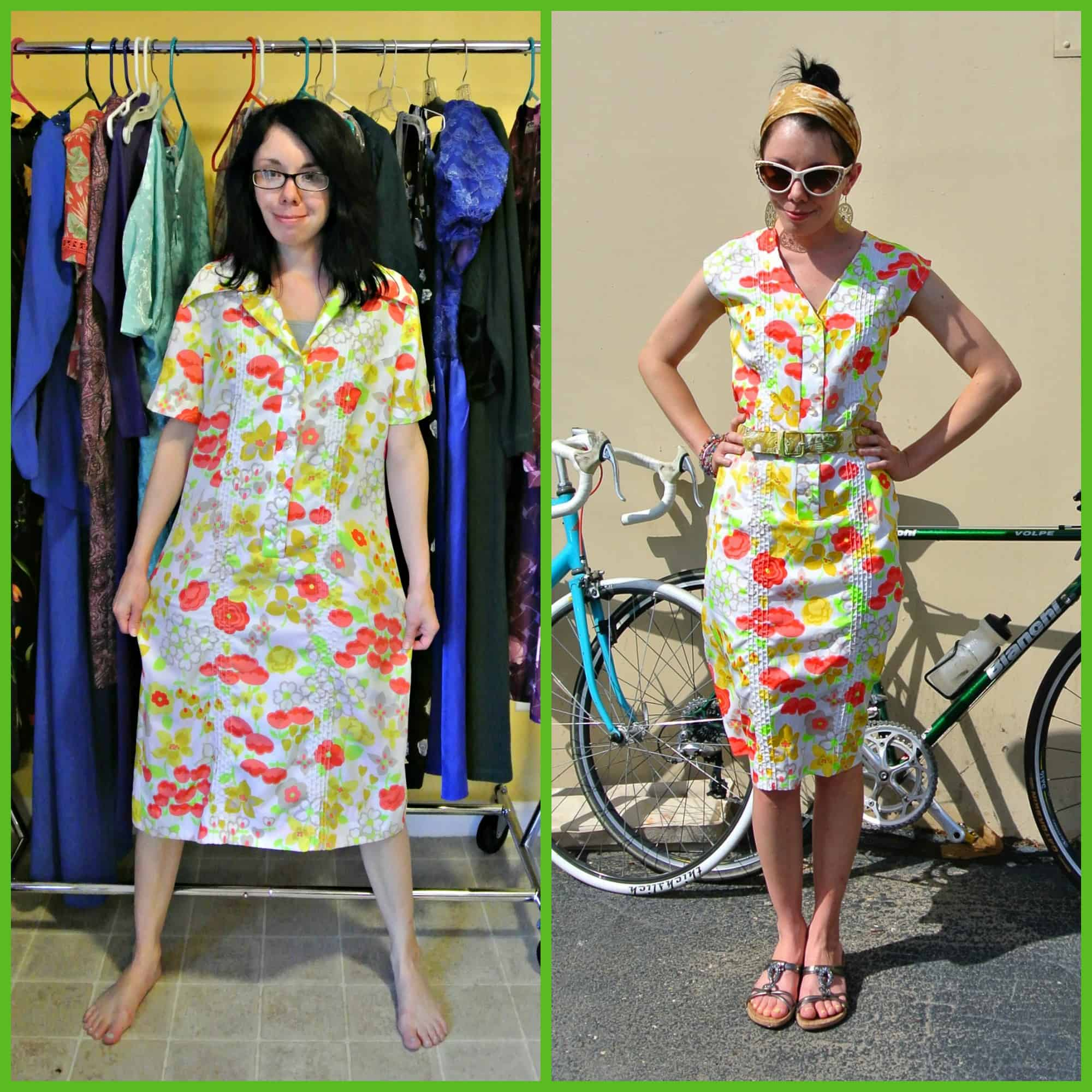Wannabe Wednesday:  A Lilly Pulitzer-Inspired Refashion 1