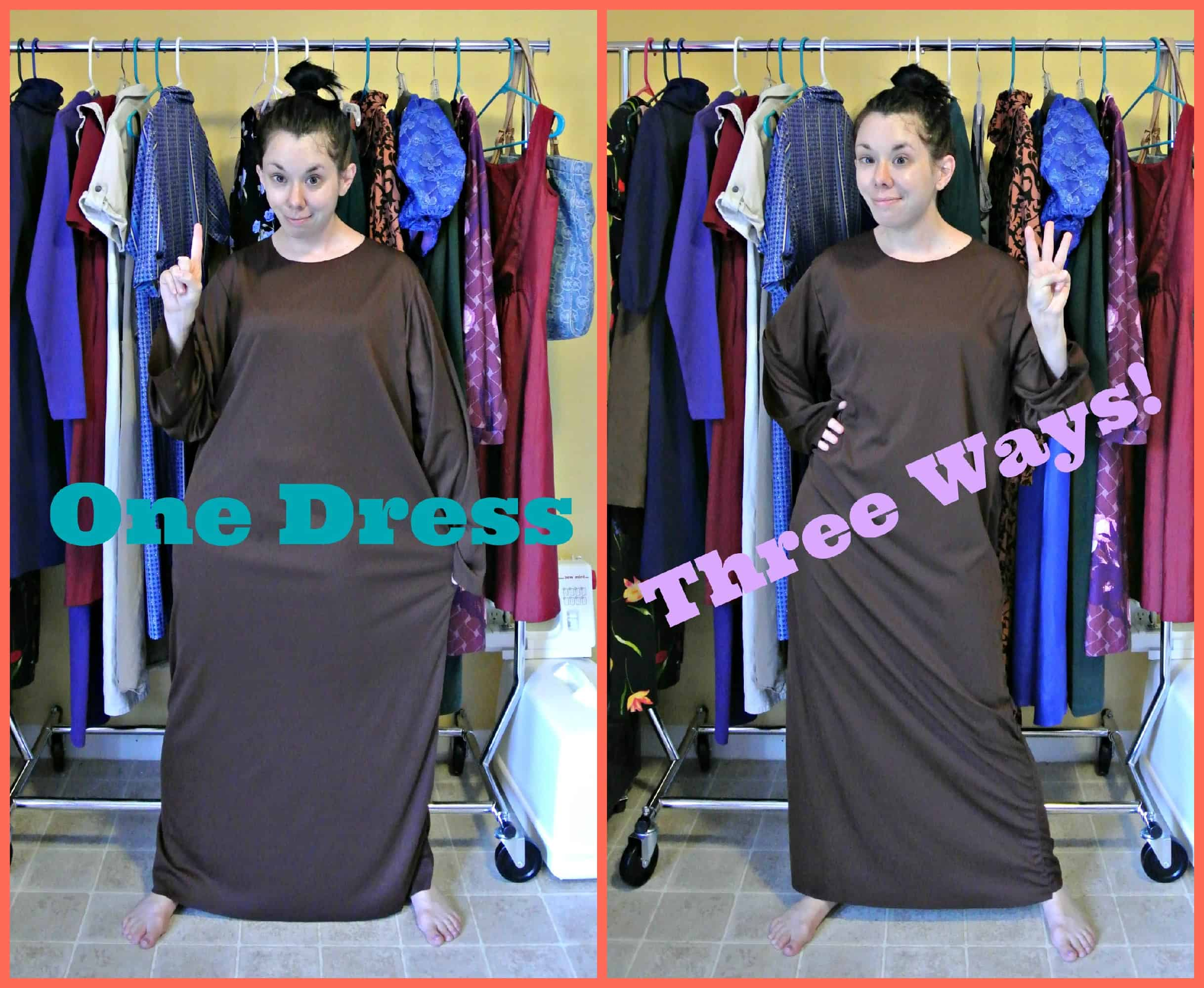 One Dress, Three Ways II ! 3