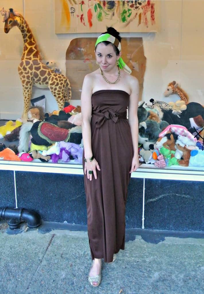 A Sunburnt Strapless Dress 5