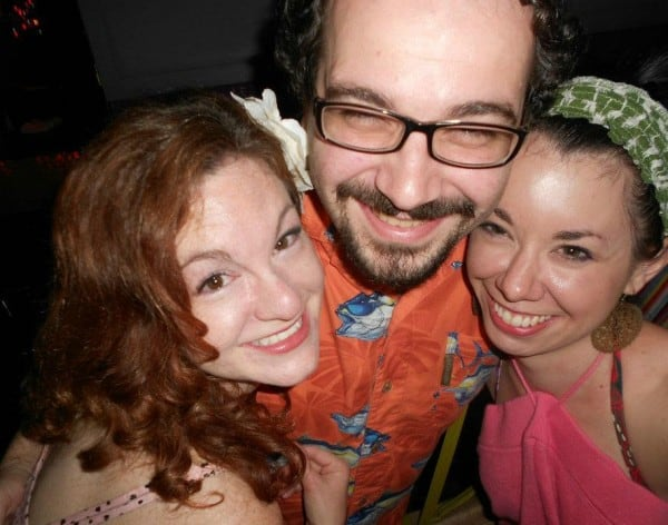 It's me, Alex, and his awesome girlfriend Meghan!  :)