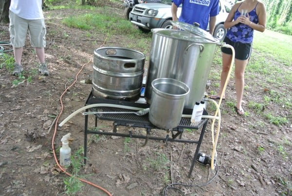 This is a beer making thing!