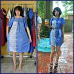 A No-Sew Aquatic Muumuu Dress