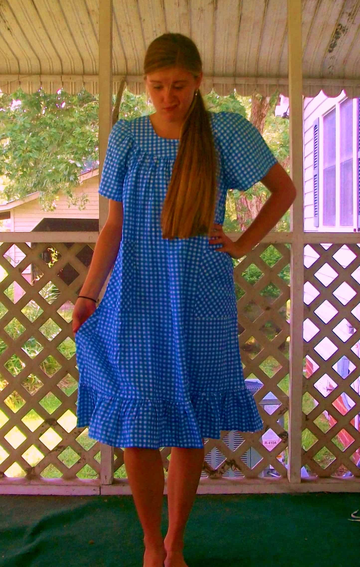 We're Not in Kansas Anymore - Kat's Darling Dorothy Costume! 11