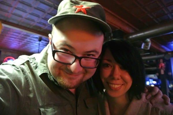 Jillian Owens and Dan Adams