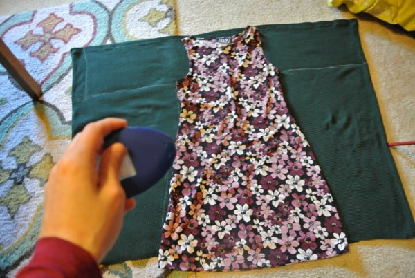 Tracing existing Dress to make New Dress