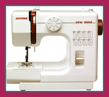 The Janome Sew Mini:  A ReFashionista Review 6