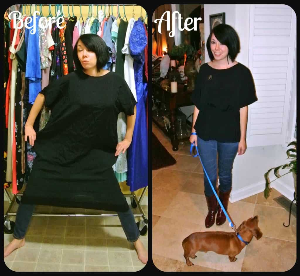 A Trace & Stitch Dress Refashion 2