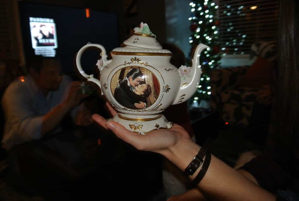 gone with the wind teapot