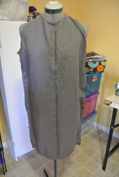 It looks like a feed sack.  :(