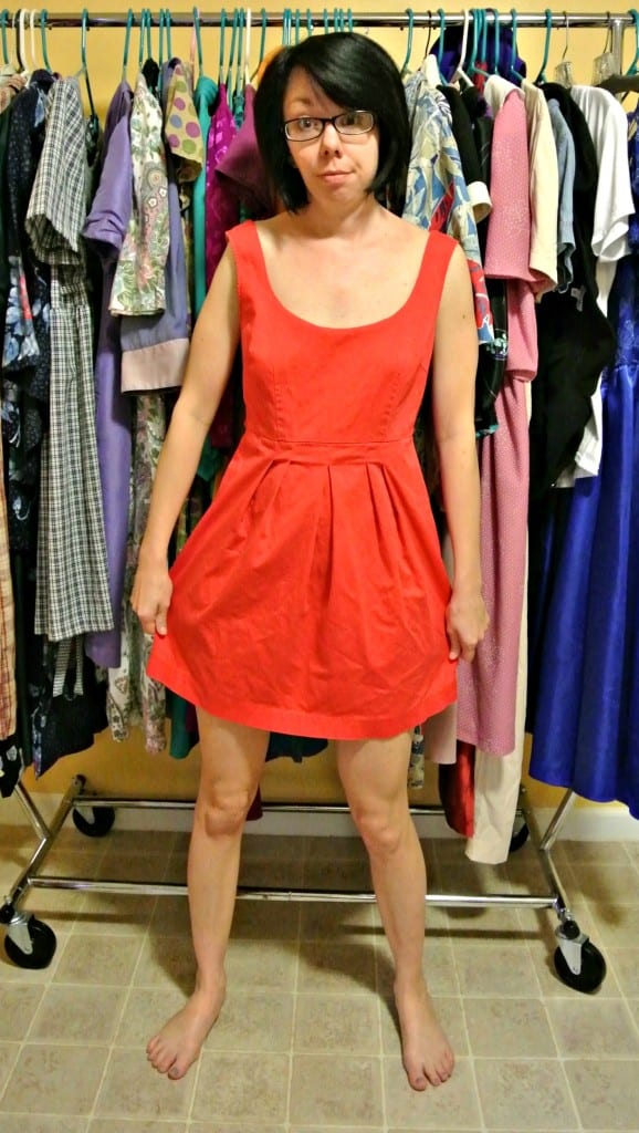 Forever 31: A Funky Dyed Dress Refashion 2