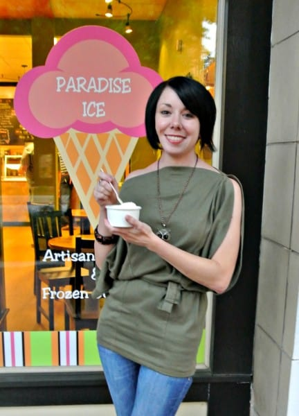 refashionista at paradise ice
