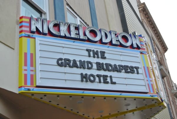Nickelodeon Theatre Marquee