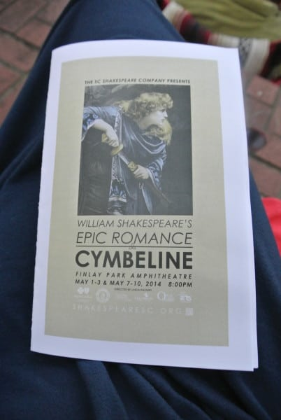Cymbeline Program