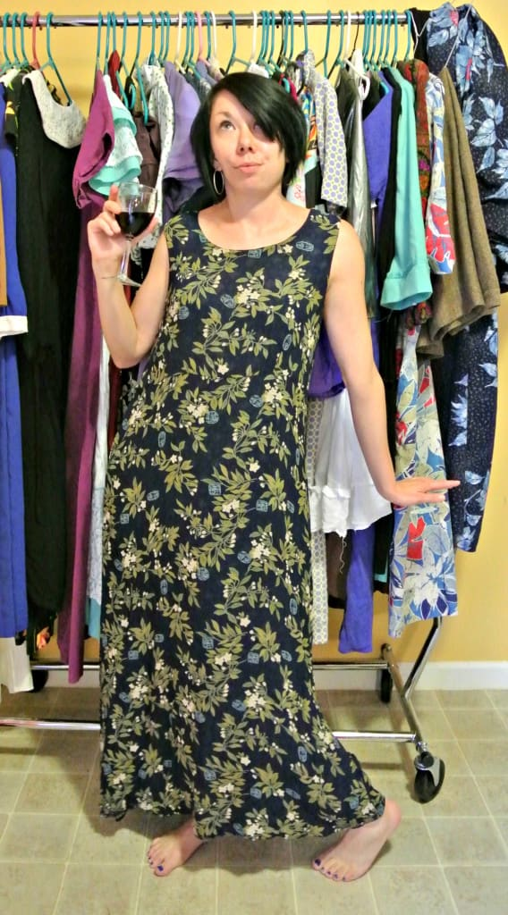A Most Secretive Maxi Dress 5