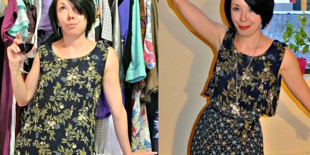 refashionista maxi dress refashion featured image