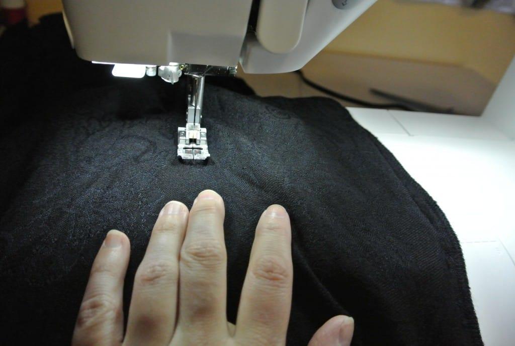Stitching new sides