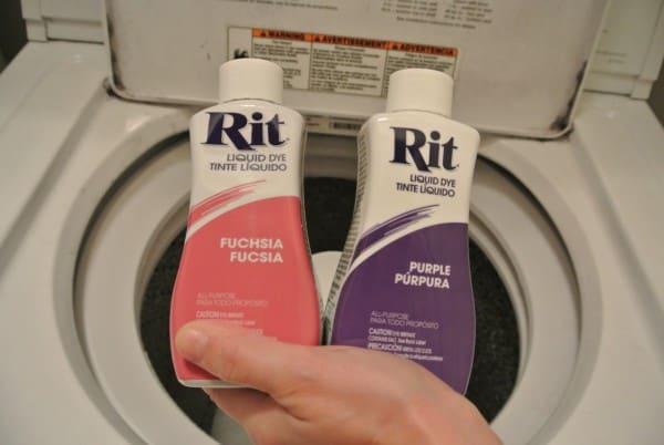 fuchsia and purple rit dyes