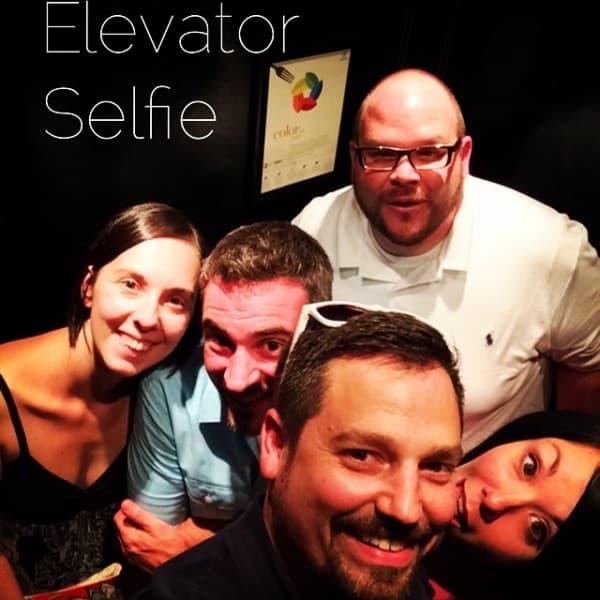 Lemme take a selfie!  ;)