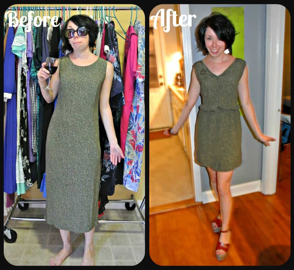 How to Add a Fantastic Elastic Waist to Just About Any Dress! 3