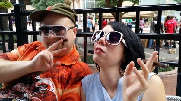 Jillian and Dan
