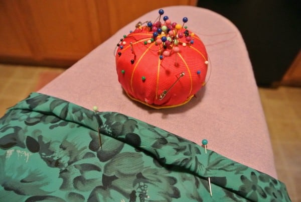 pinning top casing for strapless dress