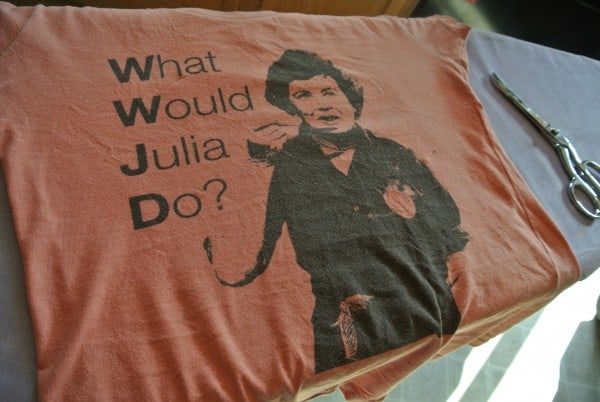 Julia Child T-shirt