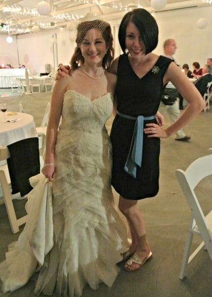 Jillian with Bride