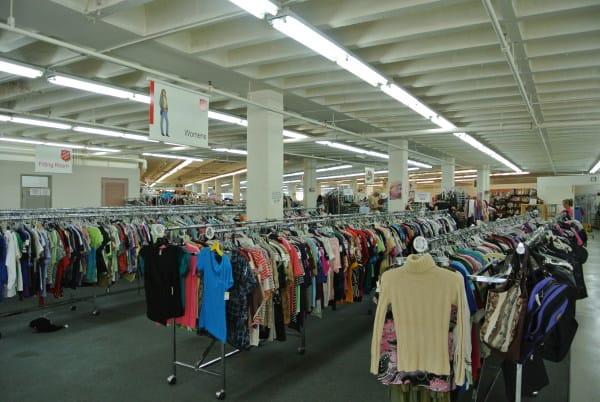Hawaiian Thrift Store Interior