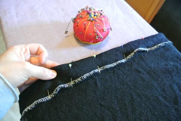Just pin & stitch!