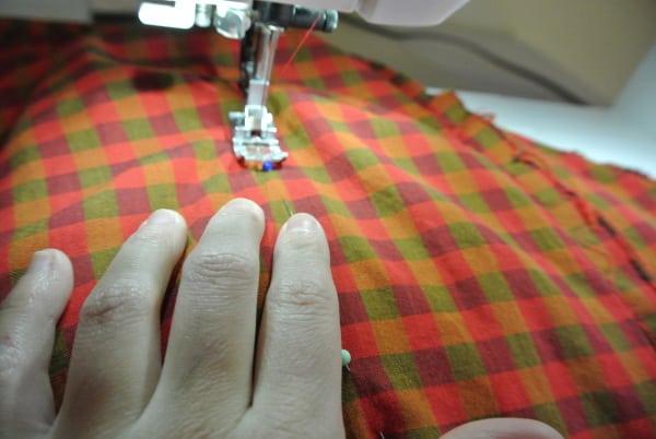Some stitching!