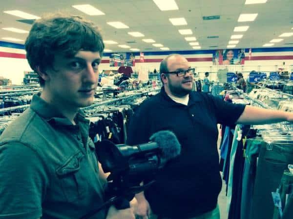 Jeff, David, and a fancy schmancy camera!