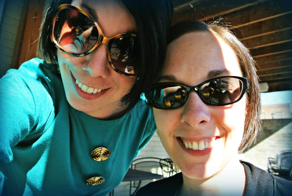 Jillian with Erin selfie