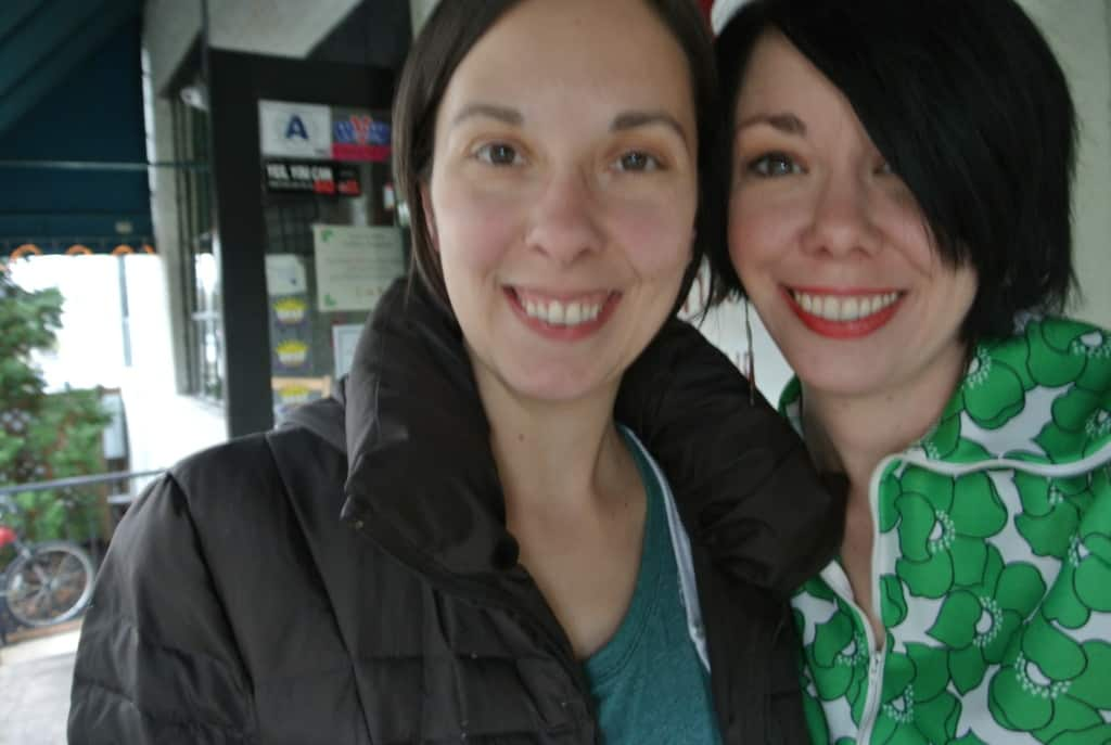 Jillian and Erin