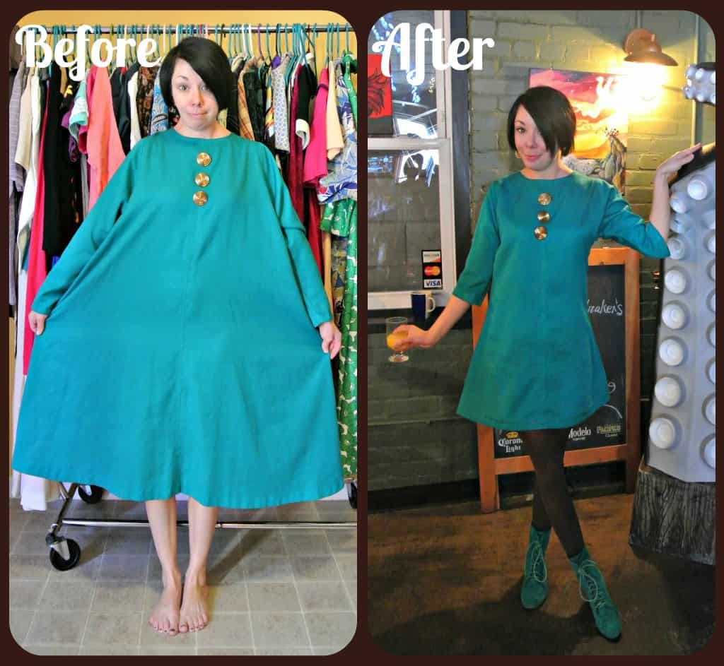 A Teal Brunch Dress 1