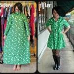Green Poppy Dress