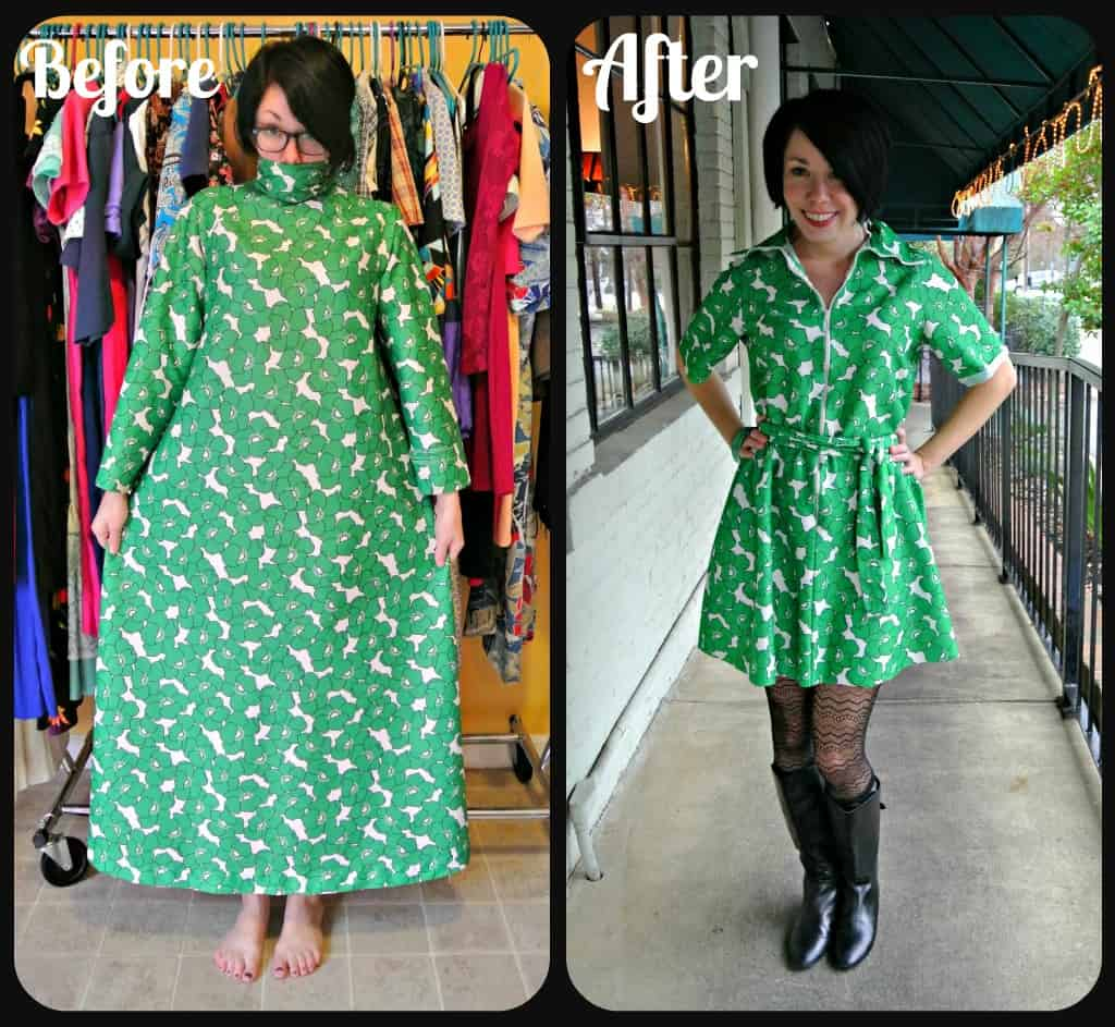 Green Poppy Dress 18