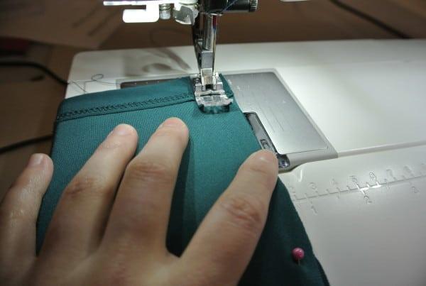 Stitch those sides!
