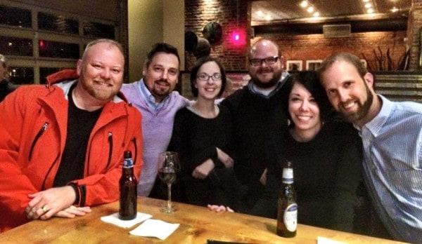 Mark Cox, Jillian, David, Erin, Phillip and Jamie in Columbia SC