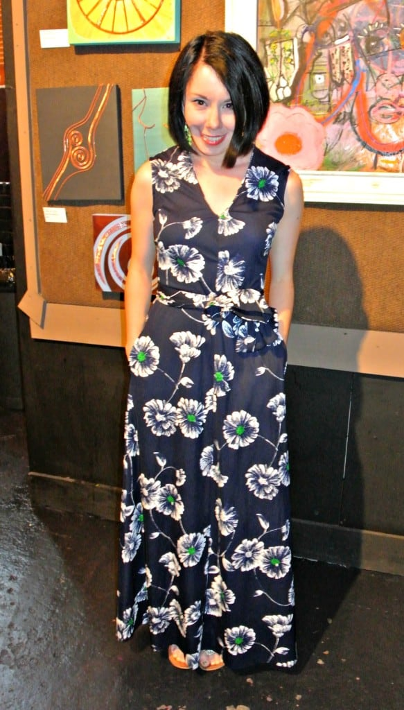 An Anthropologie-Inspired Maxi Dress Refashion