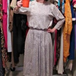 A No-Sew Coffee Date Dress-to-Top Refashion